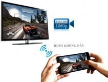 HDMI không dây, Kết nối điện thoại Iphone, Ipad, Android, máy tính với tivi, máy chiếu không dây
