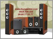 DENON AVR-X3000 + JAMO S628 HCS3 + JAMO S360