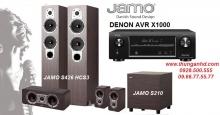 DENON AVR-X1000 + JAMO S426 HCS3 + JAMO S210