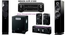 DENON AVR X1000 + YA 150 + SUB YA 515