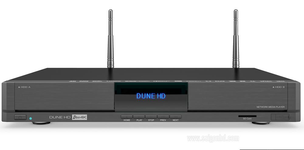 Combo Dune Duo 4K + Ổ Cứng Sata 2TB