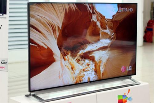 Bộ ba TV Ultra HD siêu nét công nghệ mới của LG