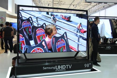 TV OLED uốn cong của Samsung tại IFA
