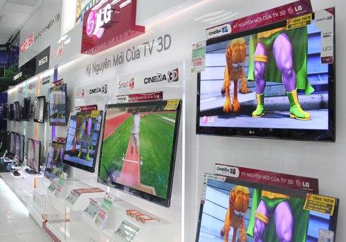 LG sẽ không còn bán TV LCD ở Việt Nam