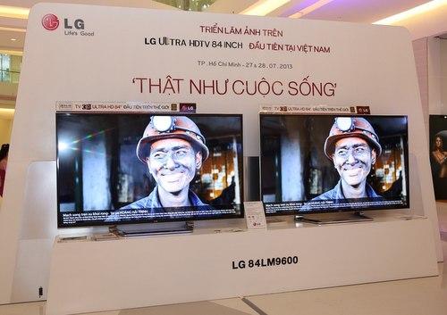 LG đem TV 3D OLED siêu mỏng 4 mm về Việt Nam