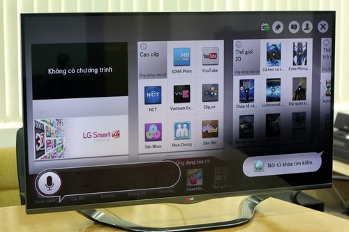 Các tính năng tiêu biểu trên TV thông minh thế hệ mới ở Việt Nam