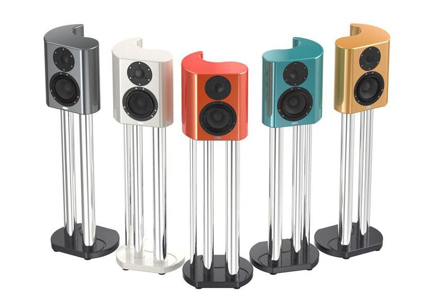 Crystal Audio giới thiệu mẫu loa có thiết kế nguyên khối Arabesque Minissimo