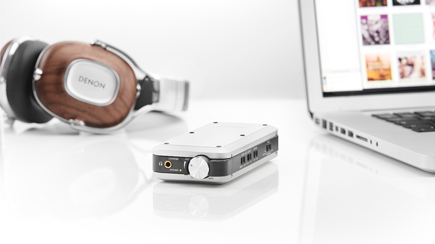 Denon ra mắt ampli headphone DA-10