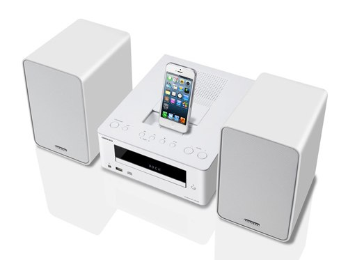 Dàn Hi-Fi mini Onkyo hỗ trợ đế cắm Lightning
