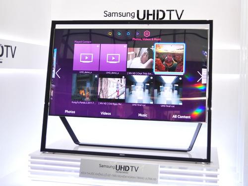 Ảnh thực tế TV 85 inch 'tiền tỷ' của Samsung