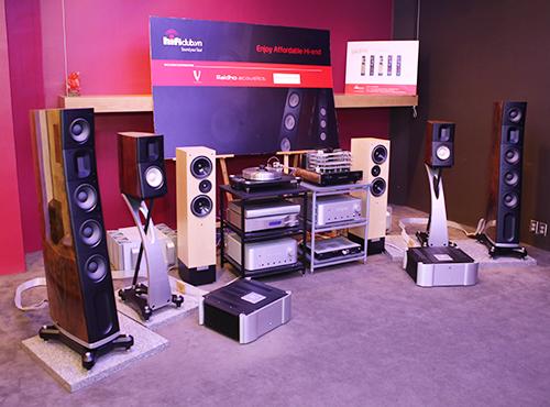 Raiho Acoustic D-3 - đôi loa 'khủng' tại AV Show 2013