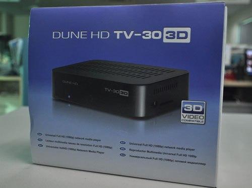 Đầu HD Dune TV 303 D mới hỗ trợ 3D
