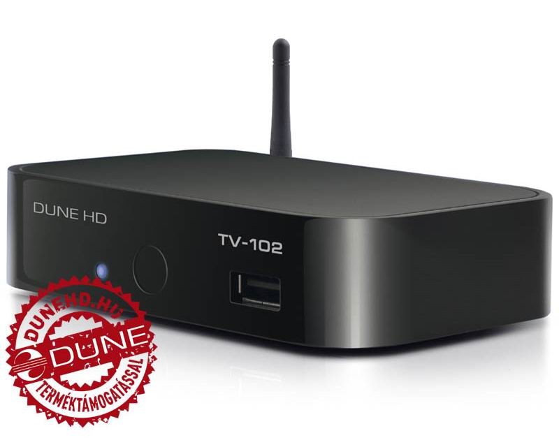 Dune TV 102  + 3TB WD My Book Smart 3.5 - USB 3.0