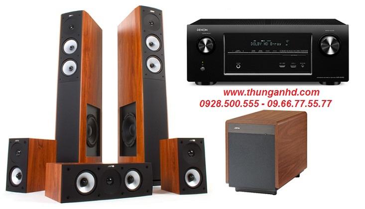 DENON AVR-X2000 + JAMO S626 HCS3 + JAMO S260