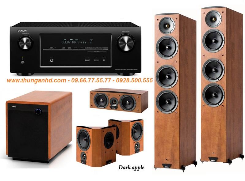 DENON AVR-X3000 + JAMO S626 HCS3 + JAMO S260