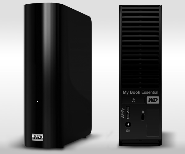 4TB WD My Book Desktop Storage - USB 3.0